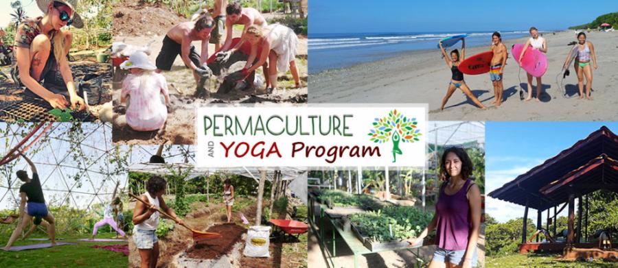 Permaculture Yoga Program - Rancho Delicioso - Upward Spirals