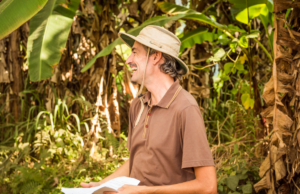 Eric Baudry at Fuente Verde on the Sustainable Living Expedition with Upward Spirals in Costa Rica (5)