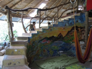 Natural Building, cob, earthbag - Sustainable Living Expedition with Upward Spirals 2017 Feb - resize